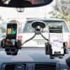 Adjustable Dual Windscreen In Car Holder