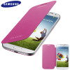 Official Samsung Galaxy S4 Flip Case Cover - Pink