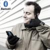 Bluetooth Handschuhe mit Mikrofon und Lautsprecher in Schwarz
