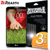 Rearth Invisible Defender 3 Pack Screen Protector for LG G2