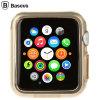 Baseus Apple Watch Series 2 / 1 Shell Case - 42mm - Gold / Clear