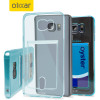FlexiShield Slot Samsung Galaxy Note 5 Gel Case - Blue Tint