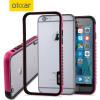 Olixar FlexiFrame iPhone 6S Bumper Case - Hot Pink