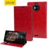 Olixar Lumia 950 XL Wallet Stand Case Hülle in Rot