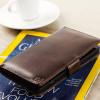 Olixar Microsoft Lumia 950 XL Ledertasche Style Wallet in Braun