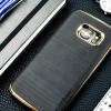 Motomo Ino Line Infinity Galaxy S7 Case - Stone Black / Chrome Gold