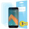 Spigen Crystal HTC 10 Displayschutzfolie 3er Set