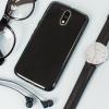 Olixar FlexiShield Moto G4 Gel Hülle in Solid Schwarz