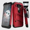 Zizo Bolt Series LG G5 Tough Case & Belt Clip - Red