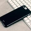 Olixar FlexiShield iPhone 7 Plus Gel Case - Jet Black