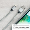 4Smarts RapidCord MFi Lightning Charge & Sync 1m Cable - Grey
