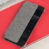 Original Huawei P10 Smart View Flip Case Tasche in Hellgrau