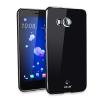 FlexiShield HTC U 11 Gel Hülle in Solid Schwarz