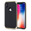 Olixar X-Duo iPhone X Hülle in Carbon Fibre Gold