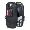 Krusell Classic Nokia 3310 2017 Genuine Leather Pouch Case - Black