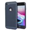 Olixar MeshTex iPhone 8 / 7 Hülle - Marine Blau
