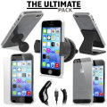 The Ultimate iPhone 5S / 5 Accessory Pack - Black