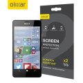 Olixar Lumia 950 Displayschutz 2-in-1 Pack