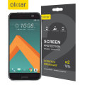 Olixar HTC 10 Full Cover TPU Screen Protector 2-in-1 Pack