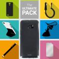 Das Ultimate Pack HTC 10 Zubehör Set in Schwarz