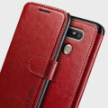 VRS Design Dandy LG G5 Wallet Case Tasche in Rot