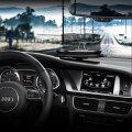 Head Up Display (HUD) In-Car Mount Navigation System