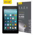 Olixar Full Cover Tempered Glas Amazon Fire 2017 Displayschutz