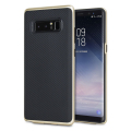 Olixar X-Duo Samsung Galaxy Note 8 Hülle in Carbon Fibre Gold