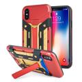 Olixar X-Trex iPhone 8 robuste Karten-Etui - Rot/ Gold