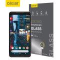Olixar Google Pixel XL 2 Tempered Glas Displayschutz