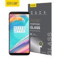 Olixar OnePlus 5T Tempered Glas Displayschutz