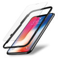 Olixar iPhone X EasyFit Case Friendly Tempered Glass Screen Protector