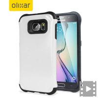 Olixar ArmourLite Samsung Galaxy S6 Hülle - Weiss