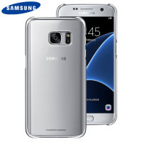 Original Samsung Galaxy S7 Clear Cover Case Hülle in Silber