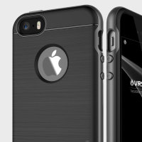 VRS Design High Pro Shield iPhone SE Case - Titanium