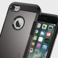 Spigen Tough Armor iPhone 7 Hülle in Gun Metal