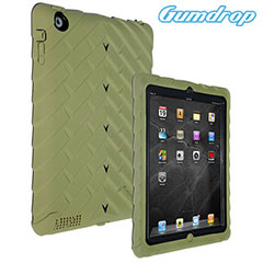 Gumdrop Drop Series Case for iPad 4 / 3 / 2 - Military Edition