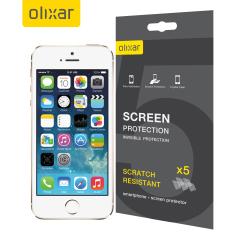 MFX 5 in 1 iPhone 5S / 5 Displayschutzfolie