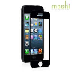Moshi iVisor XT iPhone 5S / 5 Displayschutz in Schwarz