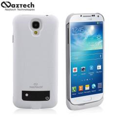 Naztech 3000mAh Power Case Galaxy S4 Akku Hülle in Weiß