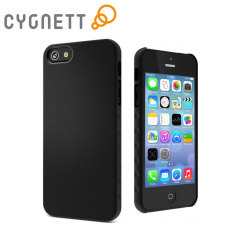Cygnett AeroGrip Feel Ergonomic Case for iPhone 5S / 5 - Black