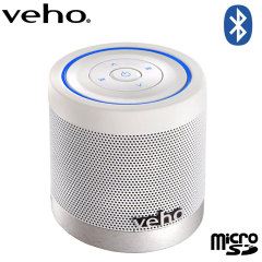 Veho 360 M4 Bluetooth Wireless Speaker - White