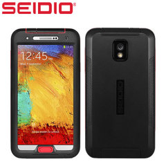 Seidio OBEX Waterpoof Wasserdichte Galaxy Note 3 Hülle in Schwarz Rot