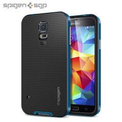 Spigen SGP Neo Hybrid Case for Samsung Galaxy S5 - Blue