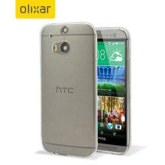 Olixar FlexiShield Ultra-Thin HTC One M8 Case - Clear