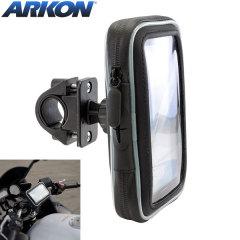 Arkon wasserfeste Fahrradhalterung mit Tasche für Smartphones