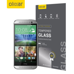 Olixar Tempered Glass HTC One M8 Displayschutz