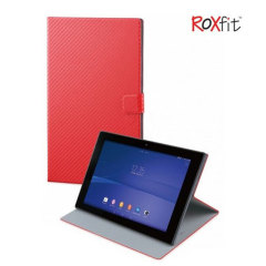 Roxfit Book Case For Sony Xperia Z2 Tablet - Carbon Red