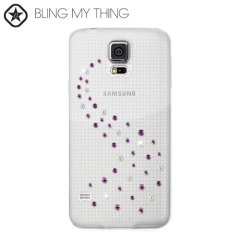 Bling my Thing Milky Way Collection Galaxy S5 Hülle in Pink Mix