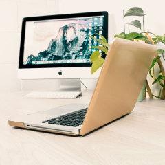 Olixar ToughGuard MacBook Pro 13 inch Hard Case - Champagne Gold